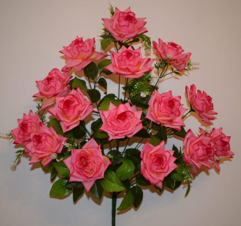 Роза острая с пластмасками 15-ка БО-113