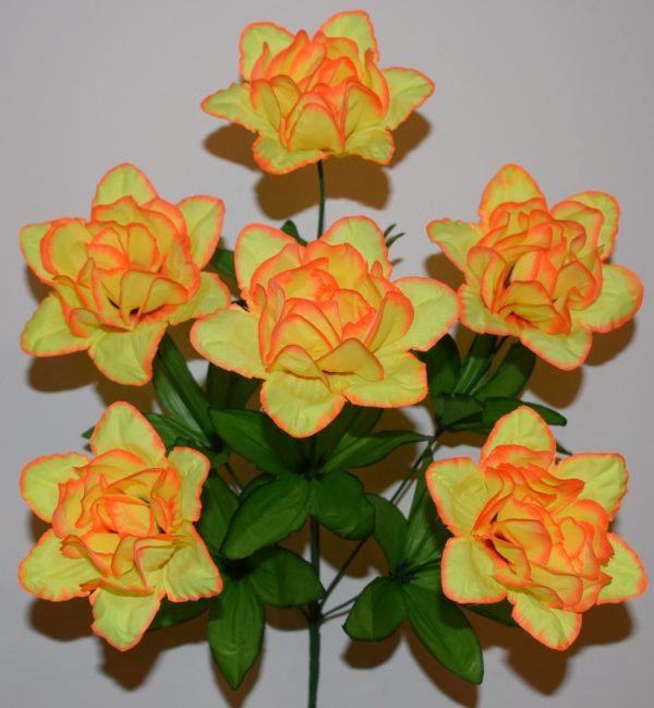 Роза камелия атлас 6-ка МА-90