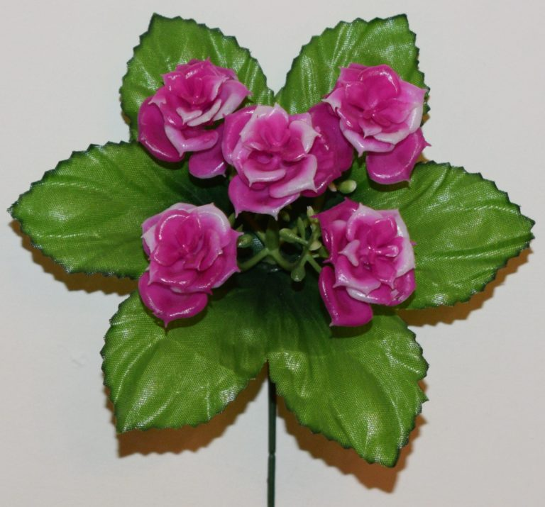 Роза пластмасовая ЗК-64