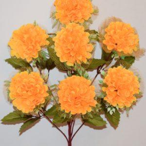 Шар хризантема с резеткой 7-ка БО-167