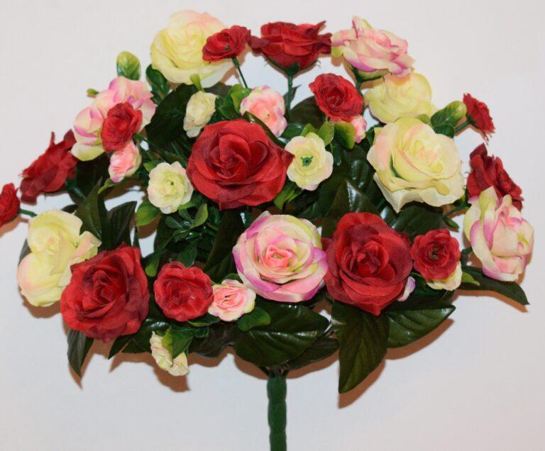 Роза невеста микс не прес БО-216
