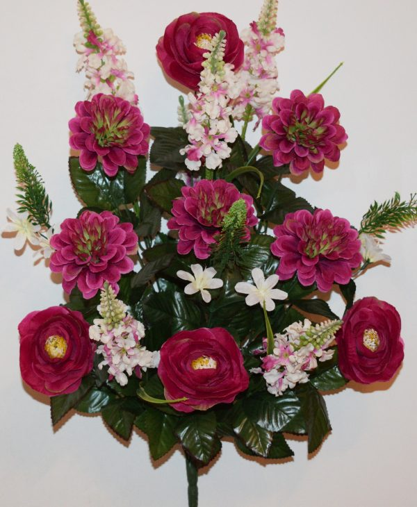 Пион+Хризантема с азалией не прес БО-306