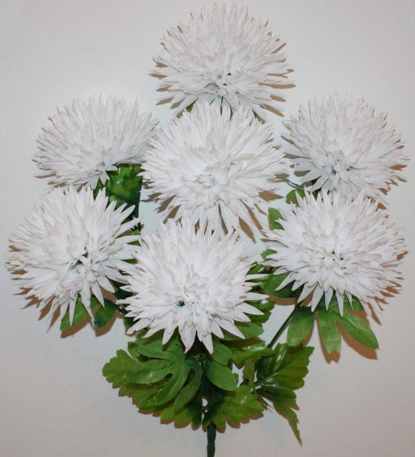 Хризантема белая 7-ка не прес БО-311