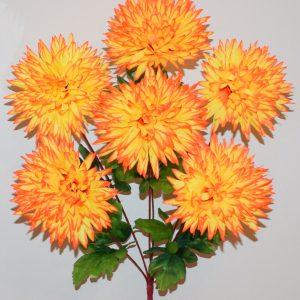 Ёжик-Хризантема цветной 6-ка БО-315