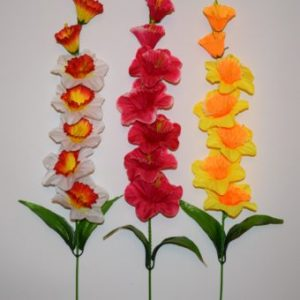 Ветка Нарцис цветной ВЕ-28