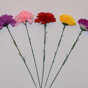 Ветка Гвоздичка цветная ВЕ-26