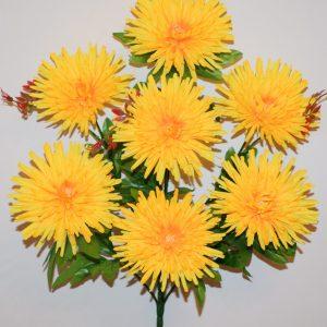 Ёжик хризантема цветная 7-ка БО-77