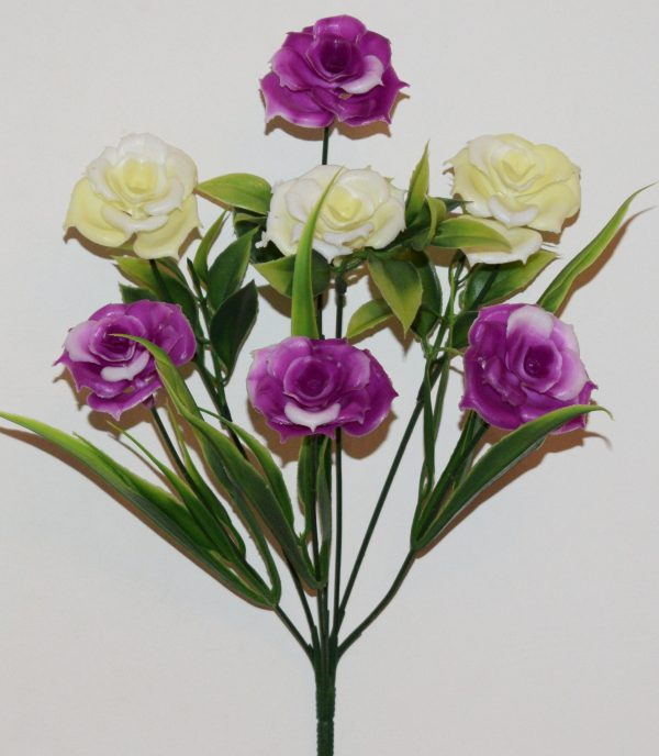 Роза пластмаса 7-ка не прес МА-155