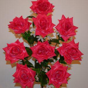 Роза гигант открытая 9-ка не прес БО-279